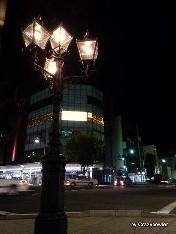 夜の新潟市中央区(2013/9)