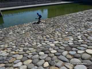 みなとぴあ 新潟市歴史博物館 荷揚げ場、旧信濃川旧河道