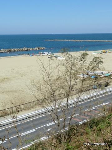浜寄り砂丘 開運ルート