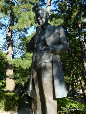 楠本正隆銅像 白山公園(新潟市)