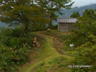 朝日山 展望台からの風景