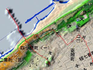 『新潟の町 微 地形散歩DAY2-4