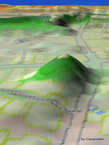 日和山から新日和山(新潟市中央区)