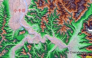 小千谷 俯瞰図 広域