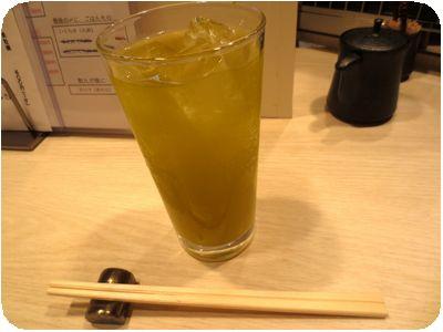緑茶ハイ(土曜日)