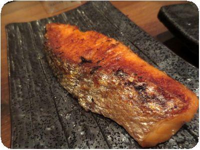 厚切り鮭塩焼き