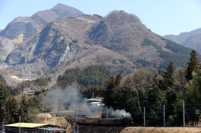 秩父鉄道 C58363 荒川上田野