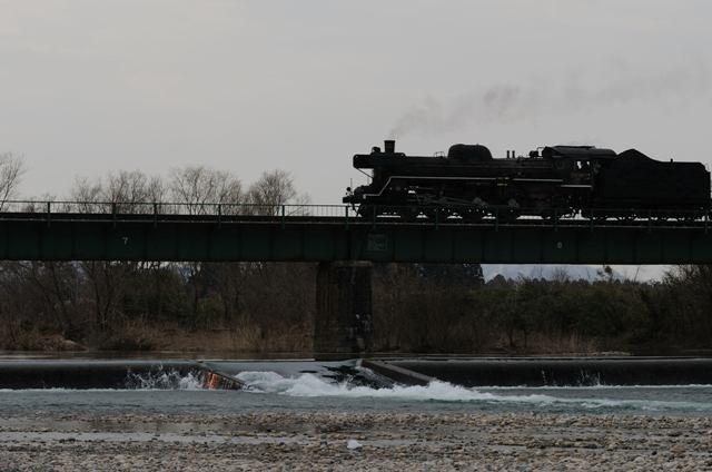 磐越西線 C57180 早出川