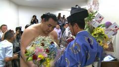 鶴竜花束 20130526