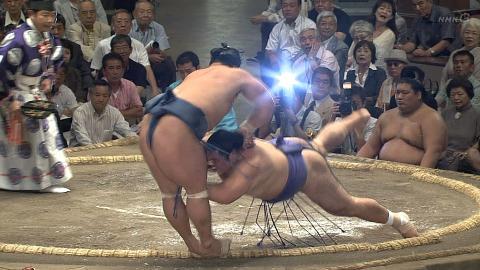 2013年秋場所 玉飛鳥vs豊真将
