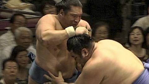 2013年秋場所中日 玉飛鳥vs豊真将 02