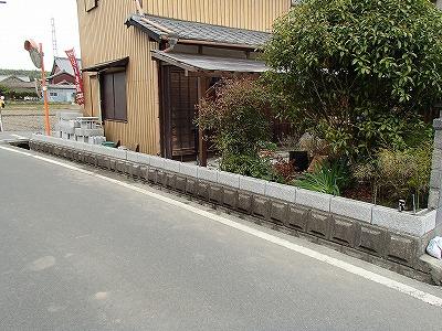 ブロックフェンス (3)