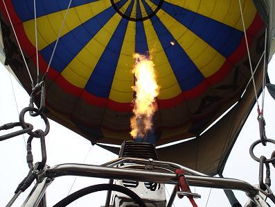 気球に乗る3