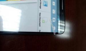 流出したGalaxy Note 3の実機画像