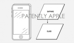 apple sapphinreglass patent