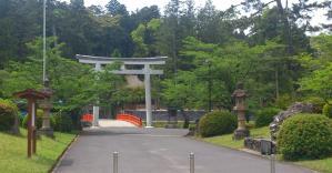 熊野大社_入口の鳥居
