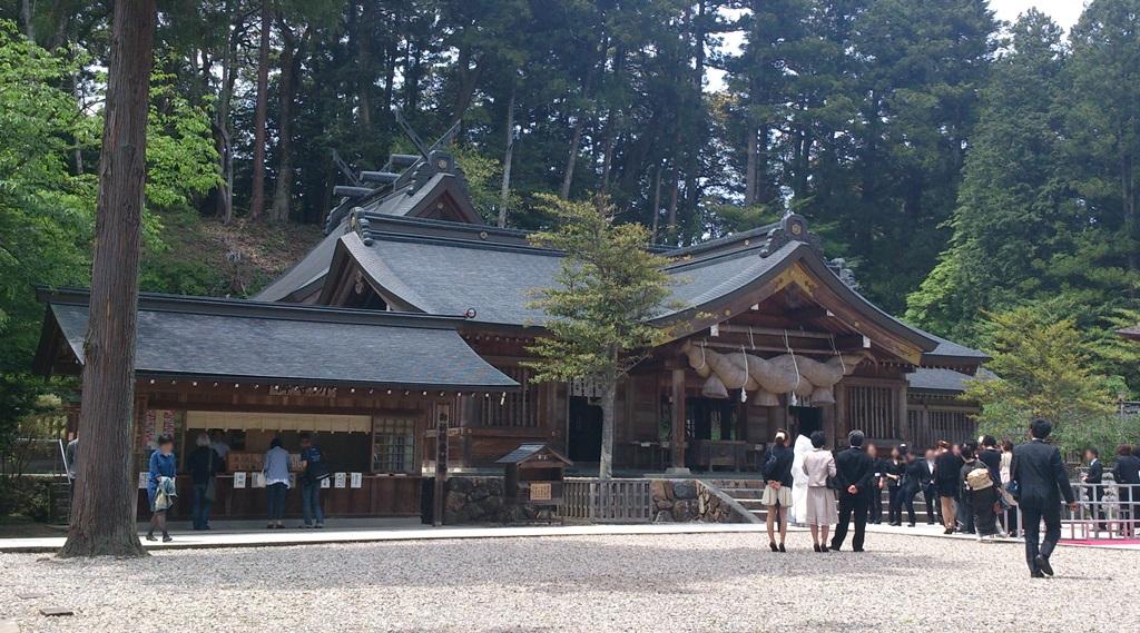 熊野大社_本殿全景
