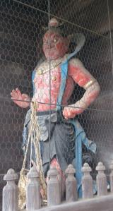 瑞龍寺_山門の仁王像2