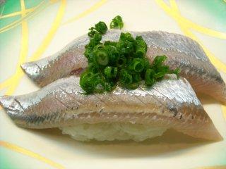 寿司 青魚.