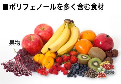 ポリフェノールを多く含んでる食材