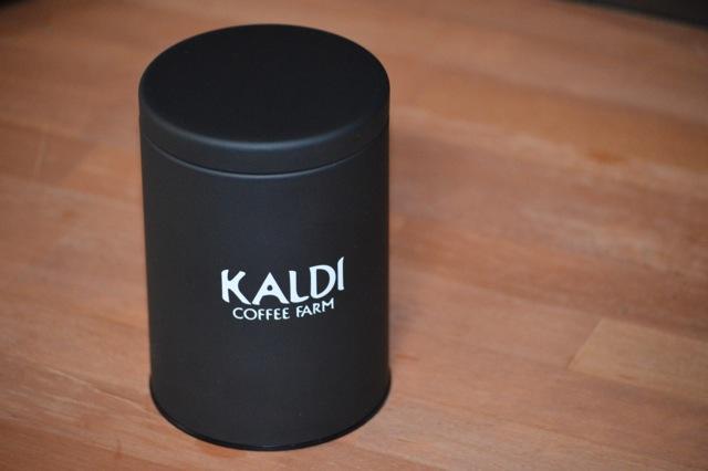 カルディキャニスター缶1