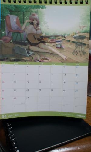 ボカロカレンダー4月分その2