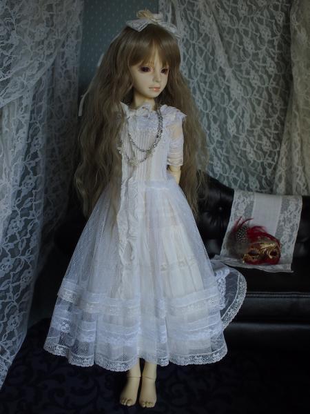アイス 白ドレス 4