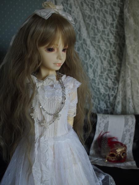 アイス 白ドレス 5