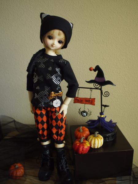 ハローウィン黒猫 2014 1