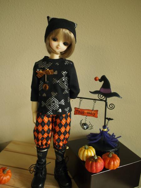 ハローウィン黒猫 2014 8