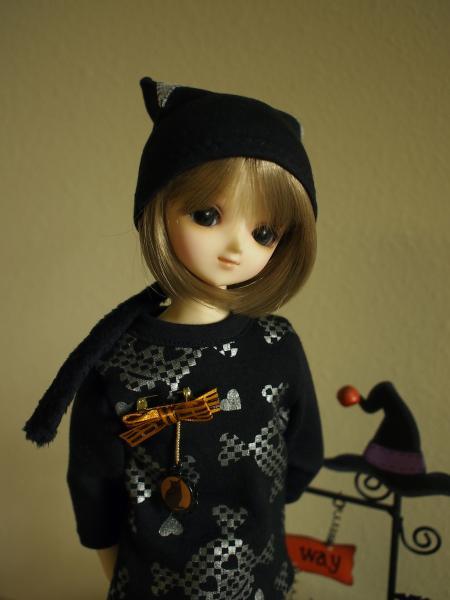 ハローウィン黒猫 2014 10