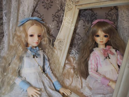 鏡の国のアリス 二人