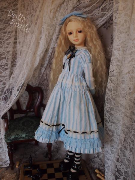 鏡の国のアリス 13' ブルーストライプ 6
