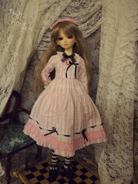 鏡の国のアリス 13' ピンクストライプ 4