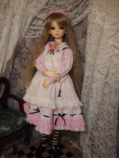 鏡の国のアリス 13' ピンクストライプ 1