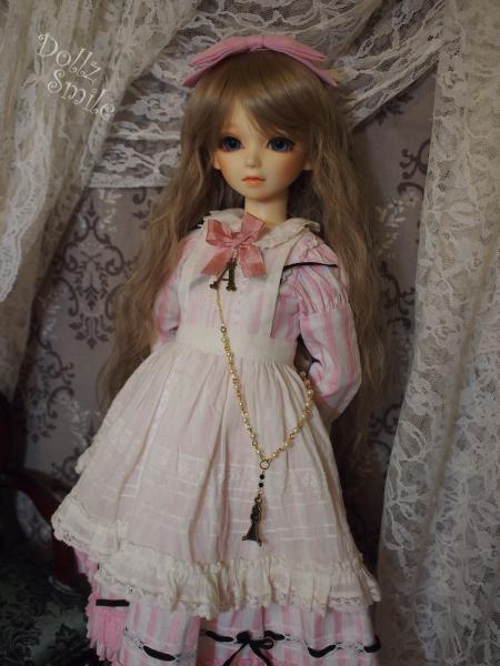 鏡の国のアリス 13' ピンクストライプ 3