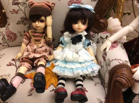 逃げ子様 和櫻ちゃん、桜雅くん 1