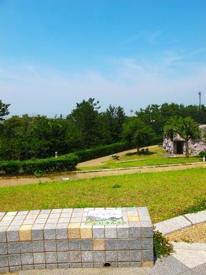 130712 用宗港ポタ 広野海浜公園から富士山見えず