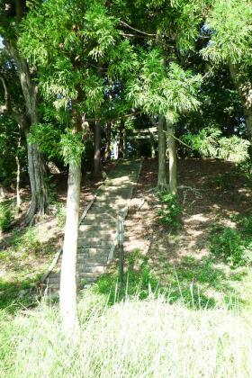 2013/08/18藁科川ポタリング_木枯の森の入り口