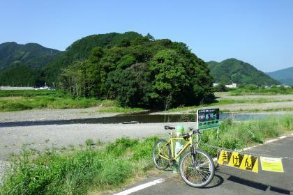 2013/08/18藁科川ポタリング_木枯の森全景