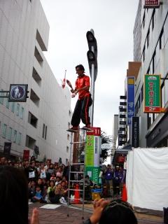 大道芸ワールドカップin静岡2013:Mr.アパッチ