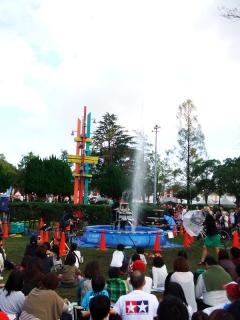 大道芸ワールドカップin静岡2013:ザ ヒューマン ファウンテン