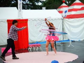大道芸ワールドカップin静岡2013:パフォーマー カナ