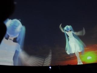 20131023_MMDドーム投影実験会:ドーム対応動画投影6