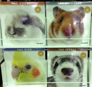 カレンダー 小動物