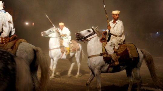 マラケシュ ショー 騎馬兵 18cmDSC03630