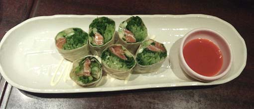 20130826 京○ 野菜の湯葉まき 18cm 15360001