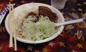 ペガペガ角煮丼