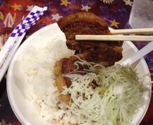 ペガペガ角煮丼2