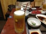 たぬき生ビール